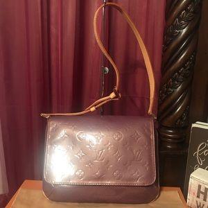 Louis Vuitton Vernis Thompson shoulder bag purple